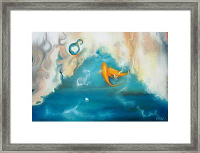 Shallow Waters Framed Print by Harriet Muller