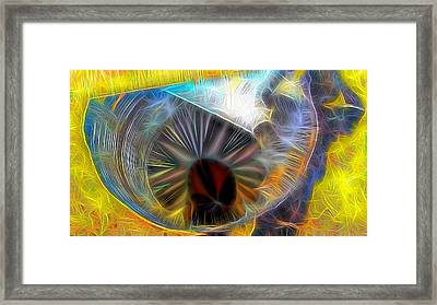 Framed Print featuring the digital art Shallow Well by Ron Bissett