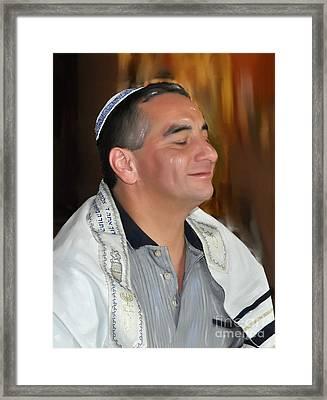 Shalom Framed Print by Denise Warsalla