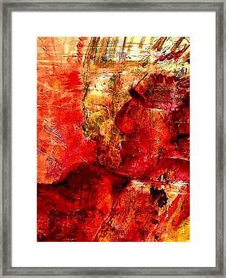 Shaman Couple Framed Print