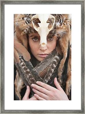 Shaman II Framed Print by Cambion Art