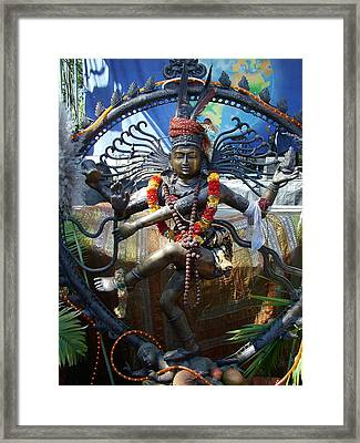 Shambu Framed Print by John Loyd Rushing