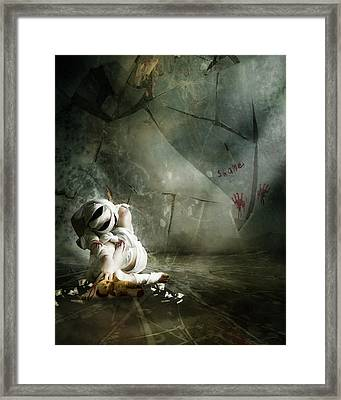 Shame Framed Print by Mary Hood