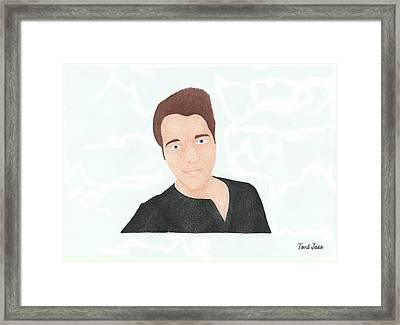 Shane Dawson Framed Print