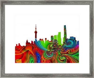 Shanghai  Framed Print
