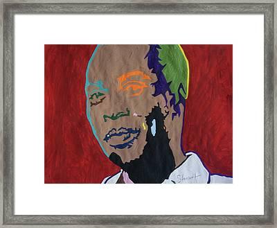 Shango Fela Framed Print by Stormm Bradshaw