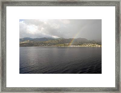 Framed Print featuring the photograph Shangralia by Gary Wonning