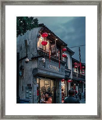 Shangtang Street Framed Print