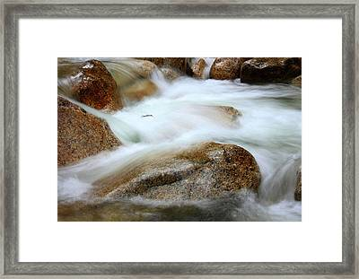 Shannon Falls Framed Print by Barbara  White