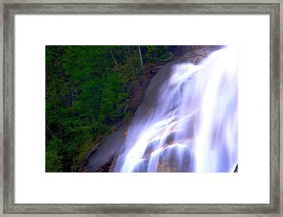 Shannon Falls Framed Print by Paul Kloschinsky