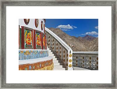 Spiritual Journey.. Framed Print