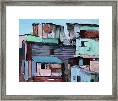 Shanties Framed Print
