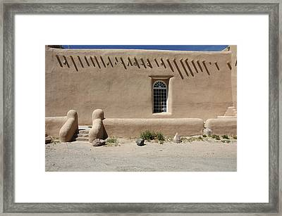 Shape And Pattern Framed Print by Jerry McElroy