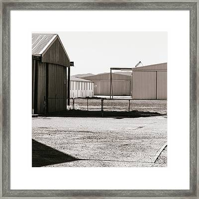 Shapes And Shadows Framed Print