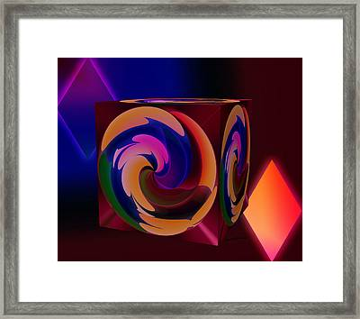 Shapes Framed Print by Anthony Caruso