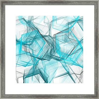 Shapes Galore Framed Print