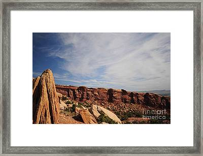 Shapes Framed Print by Kathleen Struckle