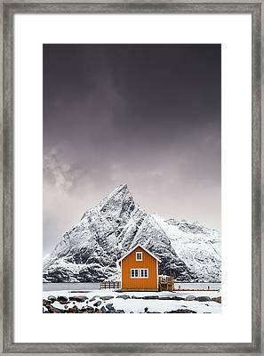 Shapes Of Lofoten Framed Print