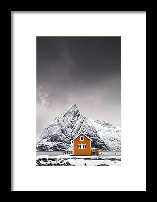 House Mountain Framed Prints