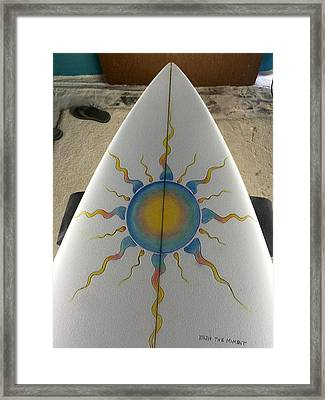 Shaping And Painting  Framed Print