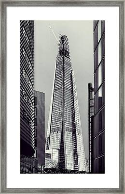 Shard Of Glass Framed Print