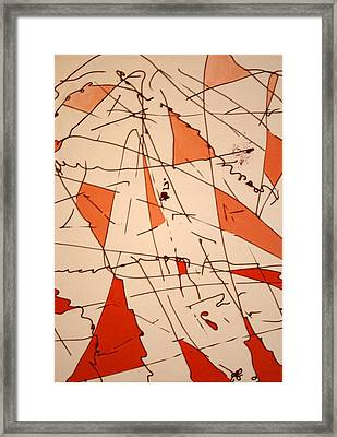 Shards - Windblown Framed Print by Jess Fuller