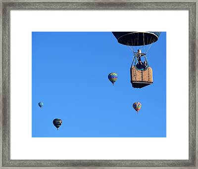 Share The Air Framed Print by John Glass