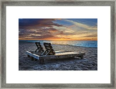 Share The Moment Framed Print by Debra and Dave Vanderlaan