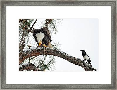 Share The Wealth Framed Print