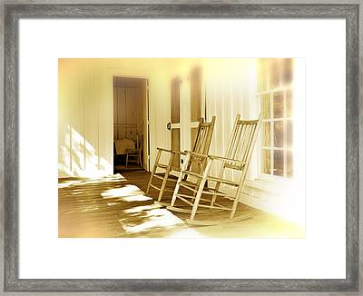 Shared Moments Framed Print
