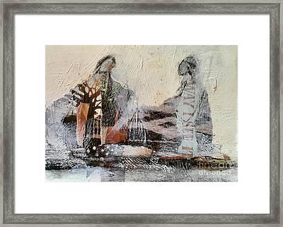 Shared Past Framed Print