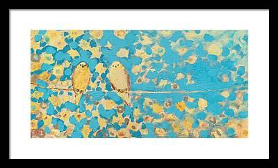 Swallow Framed Prints