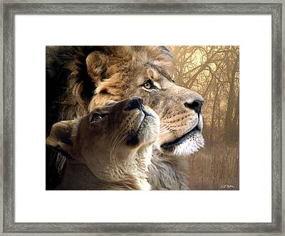 Sharing The Vision Framed Print