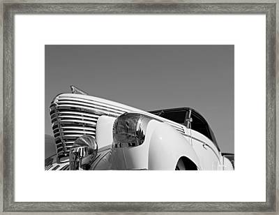 Shark Nose Graham Framed Print