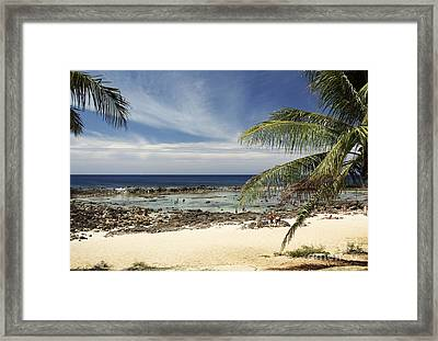 Sharks Cove Beach Framed Print by Vince Cavataio - Printscapes