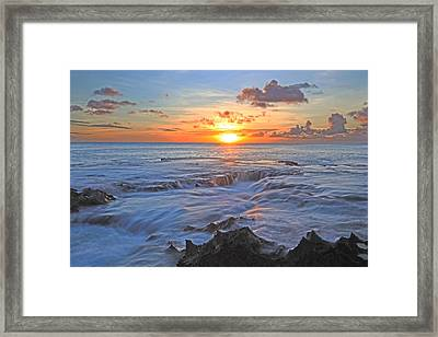 Sharks Cove Framed Print by James Roemmling