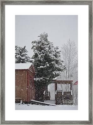 Sharon's Sweet Shop Framed Print