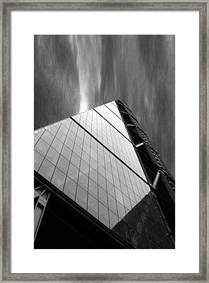 Sharp Angles Framed Print