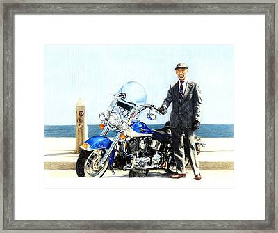 Sharp Dressed Man Framed Print