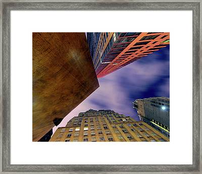 Sharp Framed Print by Mike Lindwasser Photography