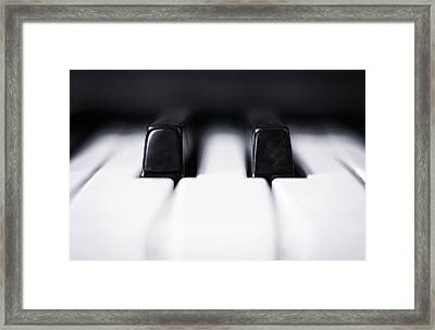 Sharp Or Flat Framed Print