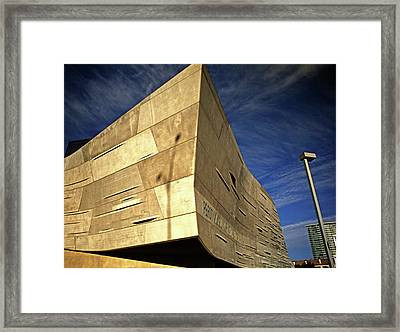 Sharp Framed Print