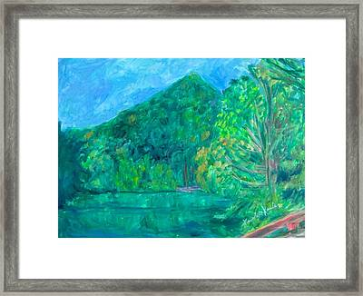Sharp Top Glow Stage One Framed Print
