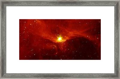Sharpless 140 In The Constellation Cepheus Framed Print