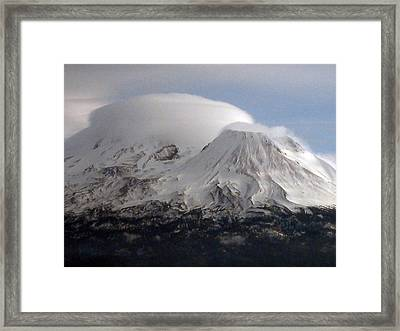 Shasta Lenticular Framed Print by Holly Ethan