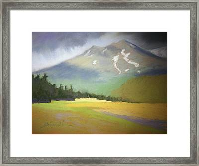 Shasta View II Framed Print