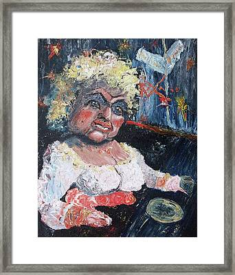 Shatterd Dreamer Framed Print by Suzanne  Marie Leclair