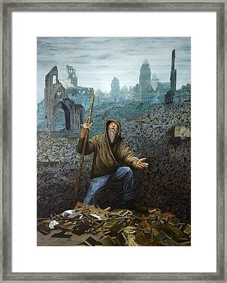 Shattered By Glory Framed Print by Robert Ray