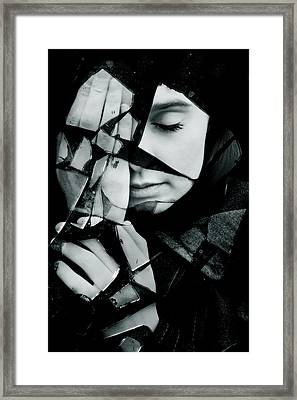 Shattered Framed Print
