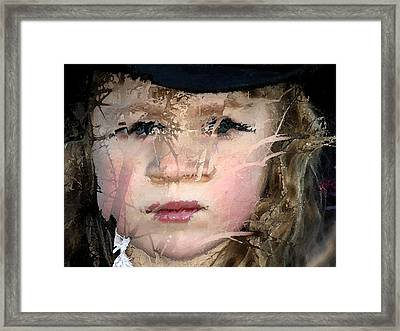 Shattered Illusions Framed Print by Barbara  White